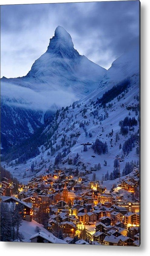 Brian Jannsen - Matterhorn at Twilight Print