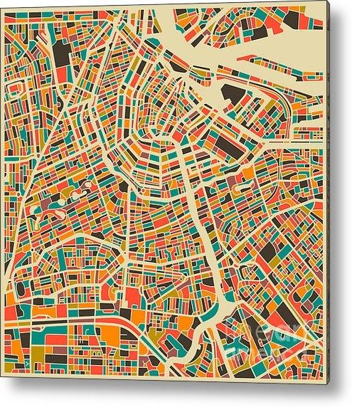 Jazzberry Blue - Amsterdam Print
