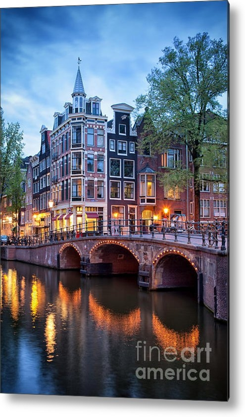 Artur Bogacki - Evening in Amsterdam Print