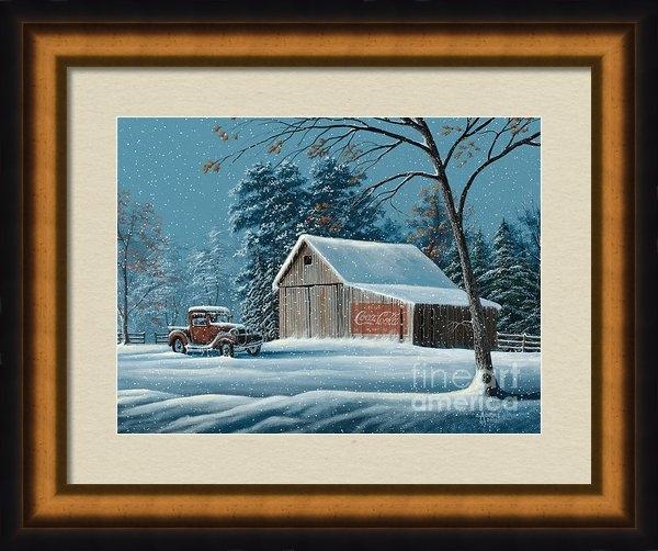 Gary Adams - First Snow Print