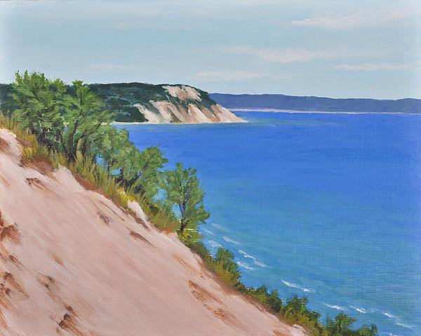 Karin Petersen - South Sleeping Bear Dunes Print