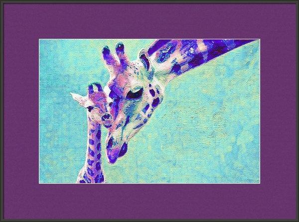 Jane Schnetlage - Abstract Giraffes Print