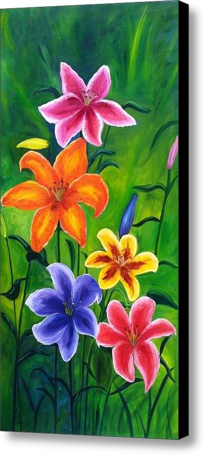 Vikki Angel - Lily Garden Print