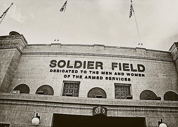 Jessie Gould - Soldier Field Print