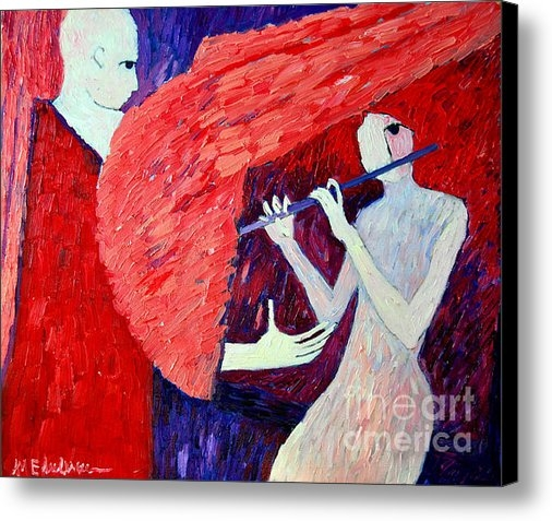Ana Maria Edulescu - Singing To My Angel 1 Print