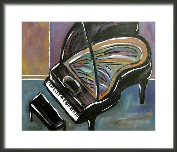 Anita Burgermeister - Piano with High Heel Print