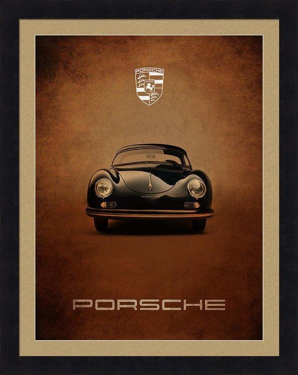 Mark Rogan - Porsche 356 Print