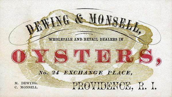 Historic Image - Vintage Oyster Dealers Tr... Print