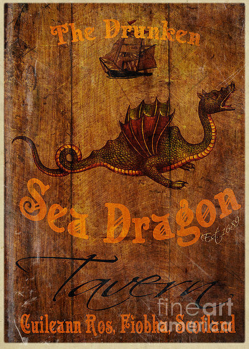 Cinema Photography - The Drunken Sea Dragon Pu... Print