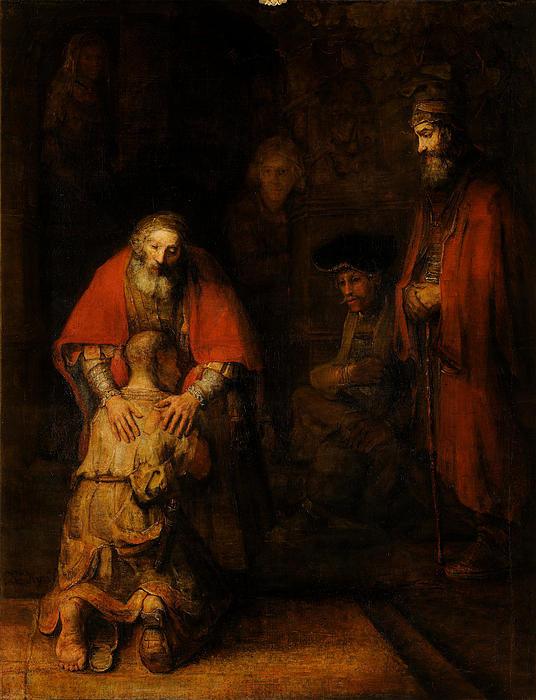 Rembrandt van Rijn - Return of the Prodigal So... Print