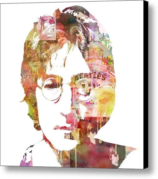 Mike Maher - John Lennon Print