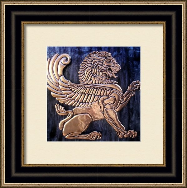 Cacaio Tavares - Winged Lion Print