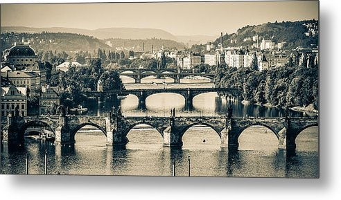 Catalin Tibuleac - Bridges of Prague Print
