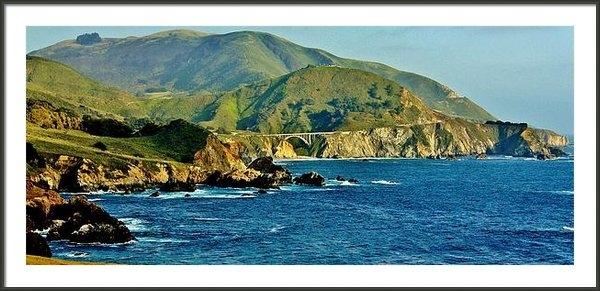 Benjamin Yeager - Pacific Coast Panorama Print