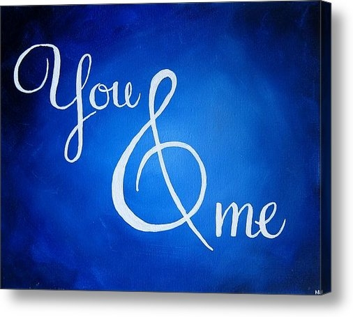 Michelle Eshleman - You and Me Print