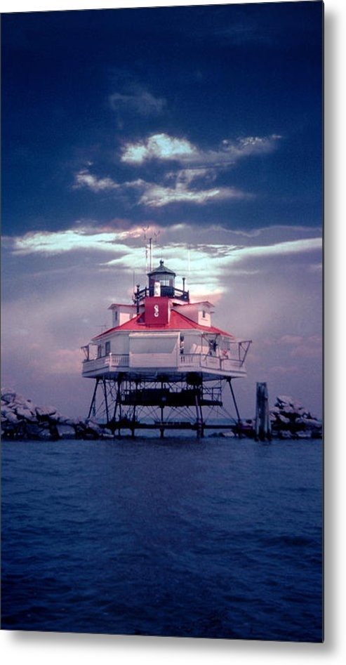 Skip Willits - Thomas Point Shoal Lighth... Print