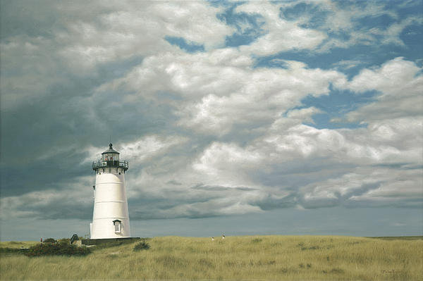 OMalley Keyes - Lighthouse Picnic Print