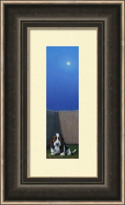 James W Johnson - Full Moon Print