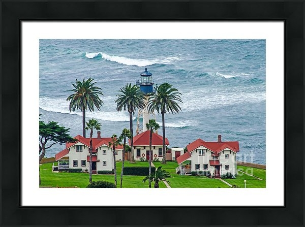 Baywest Imaging - Lighthouse on Point Print
