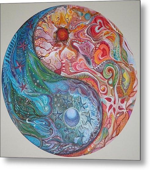 Moira Gil  - Yin Yang Mandala Print
