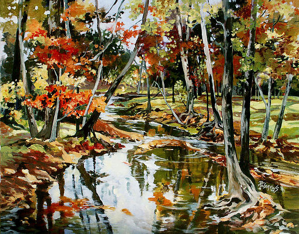 Rae Andrews - Fall Colors 3 Print