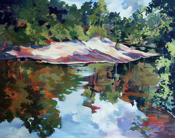 Rae Andrews - Early Morning Creekside A... Print