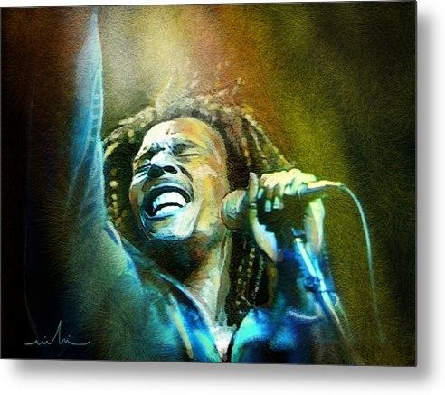 Miki De Goodaboom - Bob Marley 06 Print