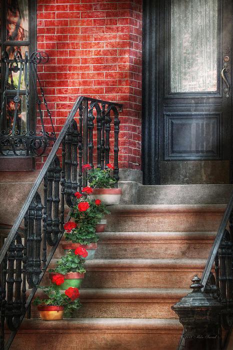 Mike Savad - Spring - Porch - Hoboken ... Print