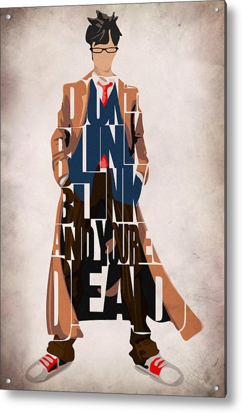 Ayse Deniz - Doctor Who Inspired Tenth... Print