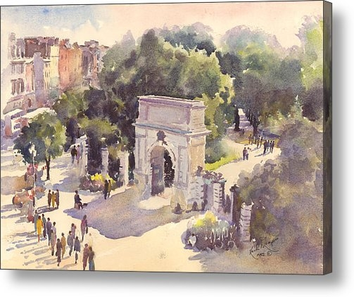 Keith W Thompson - St Stephens Green Print