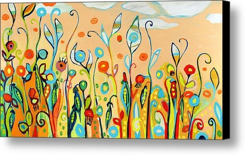 Jennifer Lommers - Sweet Peas and Poppies Print
