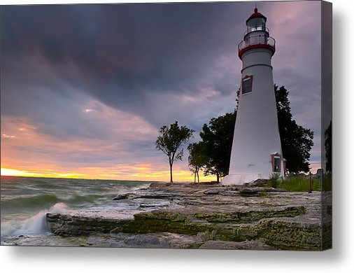 At Lands End Photography - Marblehead Lighthouse at ... Print