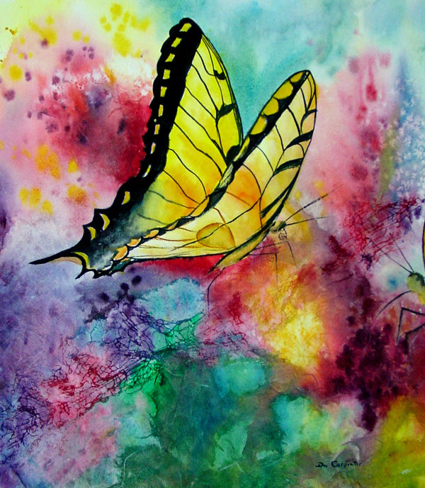 Dee Carpenter - Butterfly 2 Print