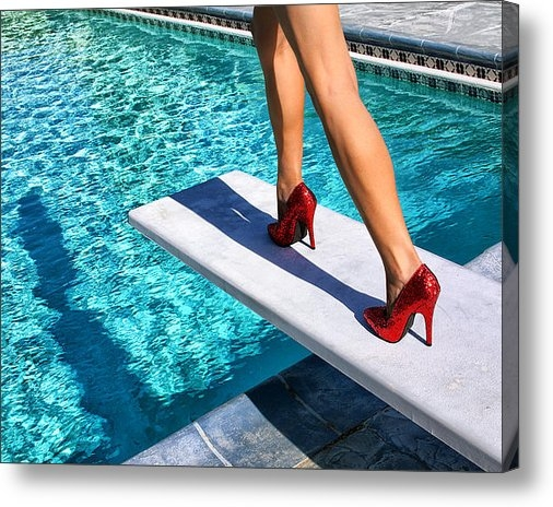 William Dey - RUBY HEELS Ready for take... Print