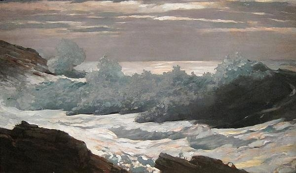 Winslow Homer - Early Morning After a Sto... Print
