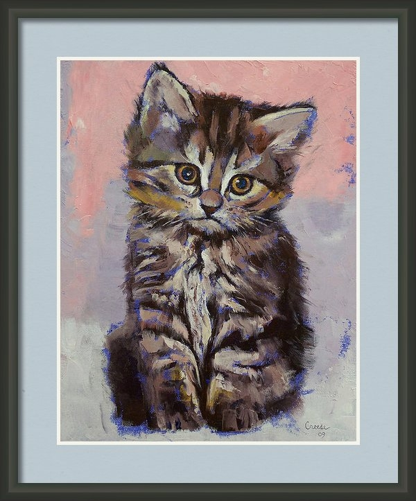 Michael Creese - Kitten Print