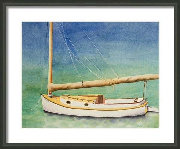 Ruth Bailey - Cat Boat Print