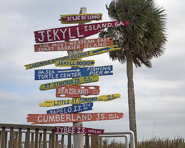 Betsy A  Cutler - Jekyll Island Where to Go Print
