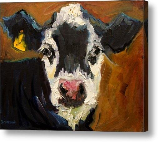 Diane Whitehead - Salt and Pepper Cow Print