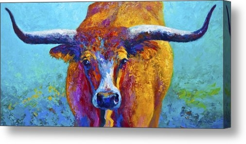 Marion Rose - Widespread - Texas Longho... Print