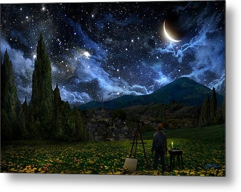 Alex Ruiz - Starry Night Print
