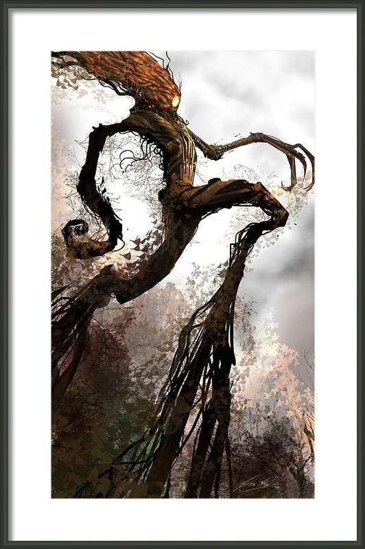 Alex Ruiz - Treeman Print