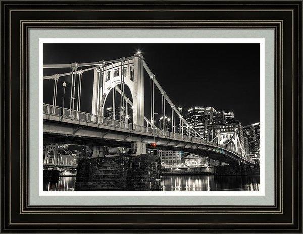 Kyle Nagle - Roberto Clemente Bridge Print