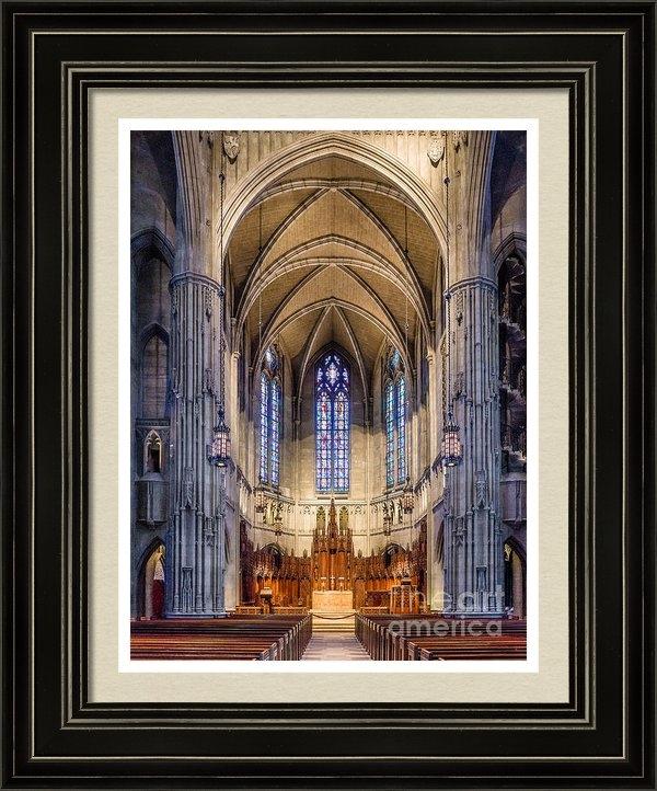 John Waclo - Heinz Chapel - Pittsburgh... Print