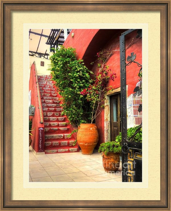 Michael Garyet - The Red Staircase Print