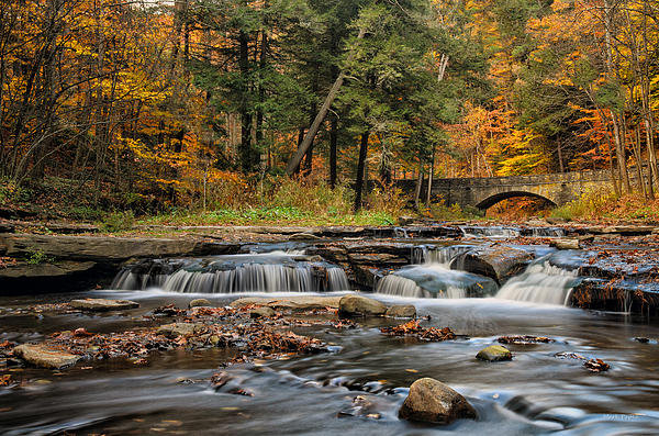 Mark Papke - Autumn Cascades Print