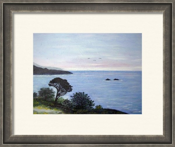 Julie Lourenco - Carmel by the Sea Print