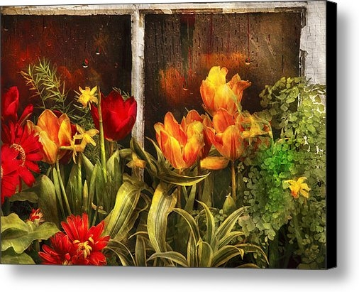 Mike Savad - Flower - Tulip - Tulips i... Print