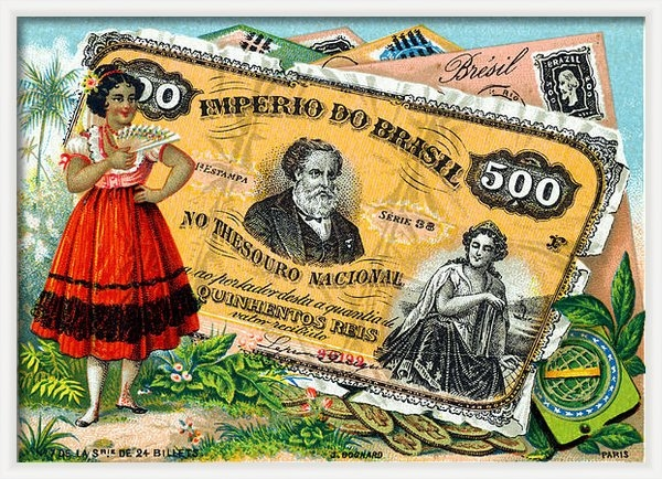 Historic Image - 19th C. Brazilian Commerc... Print