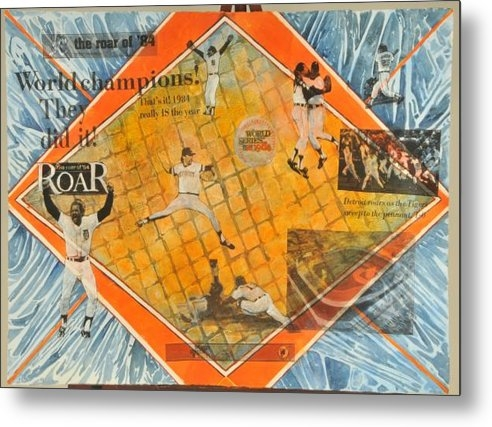 Martha Zausmer paul - Detroit Tigers 1984 Penan... Print